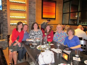 Reunion Dinner - 2015 SCADaddle For Research Naperville, IL