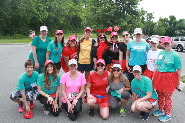 SURVIVORS:  Back from L to R—Jessica Graef, Danielle Denlein, Jill McComsey, Karen Nelson, Claudia Brown, Ellen Robin, Amy Allen, Robyn Harris, Leslie Kelly, Gabrielle Bailey Front from L to R—Renee Ridberg, Rosanna Genovesi, Carrie Tamandl, Stephanie George, Eileen Ferguson, Meghan Stelacio