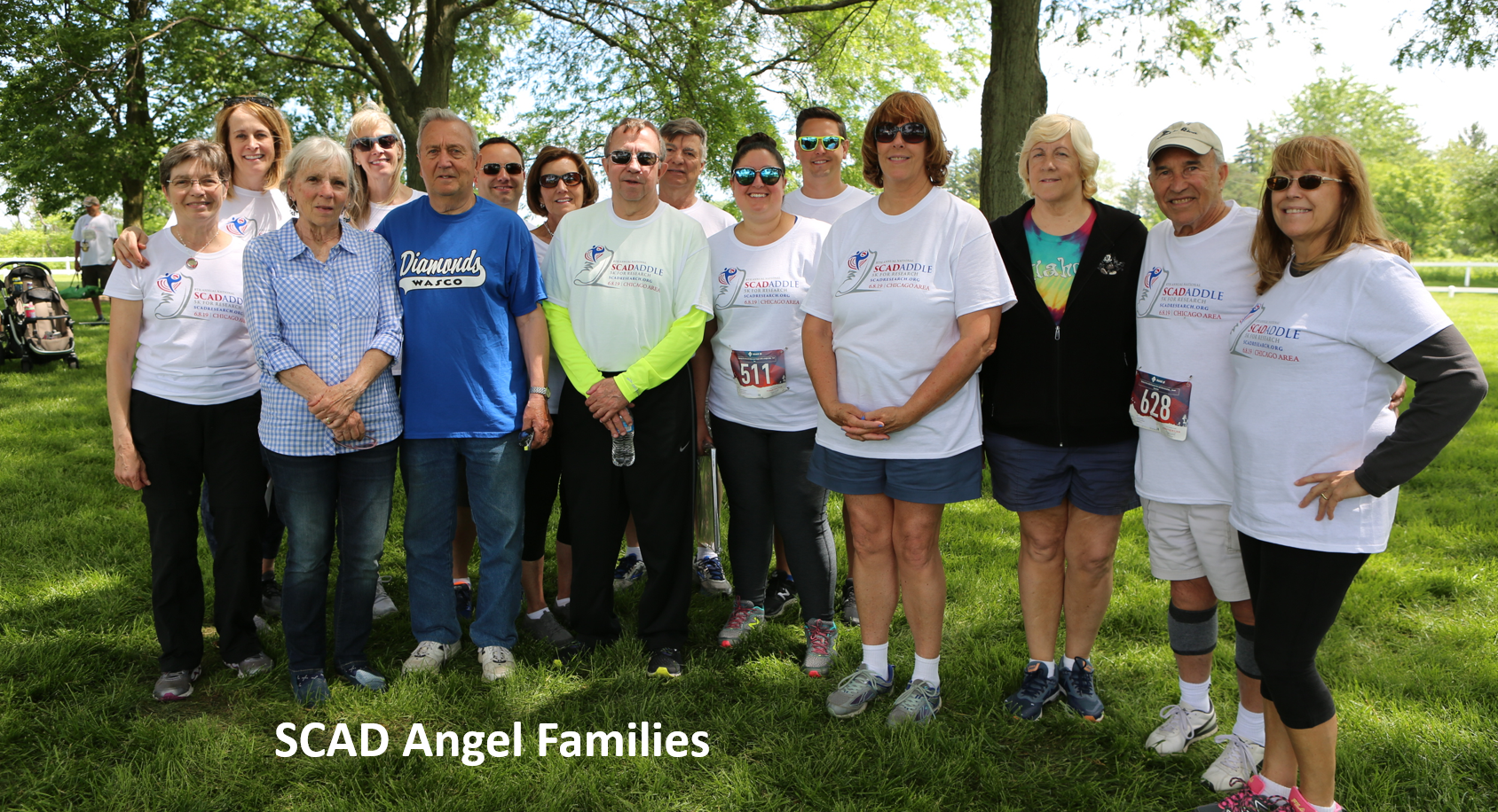 scad angel families 8th National/Chicago area 5K SCADaddle©