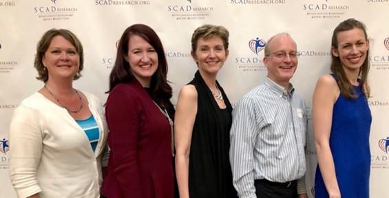 Jill Boyum, Tamiel Turley, Dr. Sharonne Hayes, Dr. Timothy Olson, Dr. Marysia Tweet