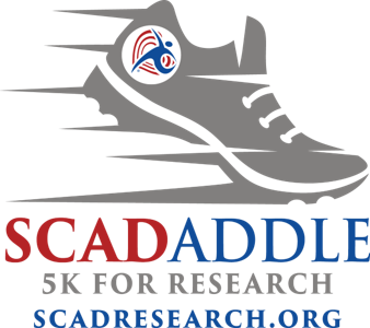 2020 SCADaddle 5K for Research Logo